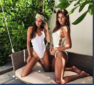 Steffanie Roberts and Talia Richman (Australia) - Finolhu