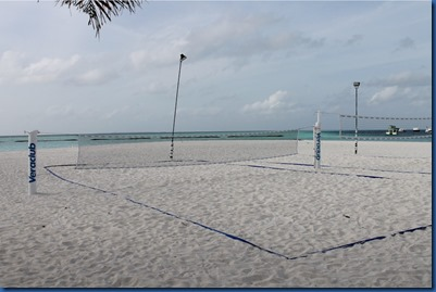 Dhigufaru - badminton and beach volleyball