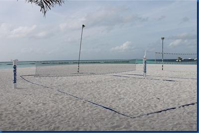 Dhigufaru - badminton and beach volleyball