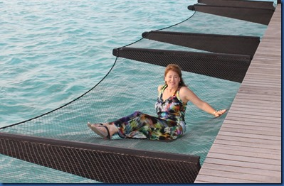 Hammock - water villa fish net