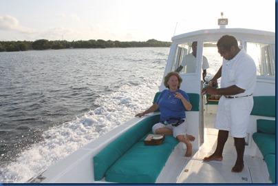 Soneva Fushi luxury dolphin cruise