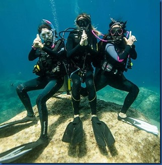 Underwater - activity - crime fighting