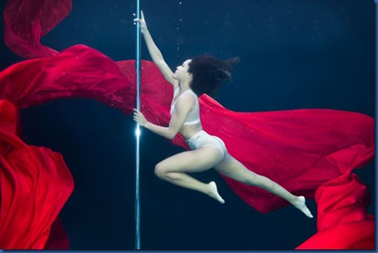 Underwater - activity - pole dancing