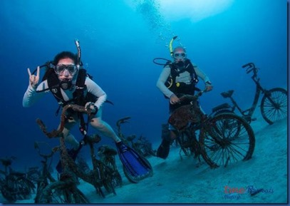 Underwater - activity - spinning class