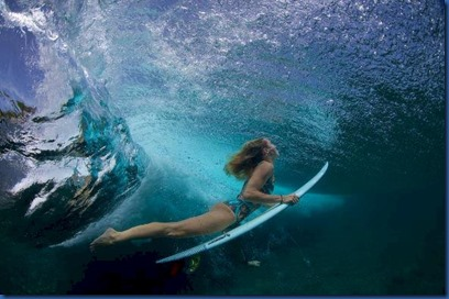 Underwater - activity - surfing