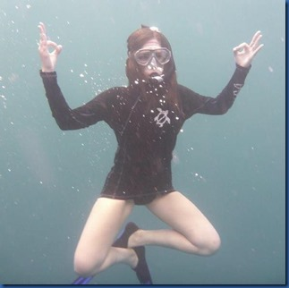 Underwater - activity - yoga