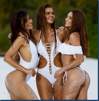 Viki Odintcova, Irina Dreyt and Galina Dub (Russia) – One & Only Reethi Rah