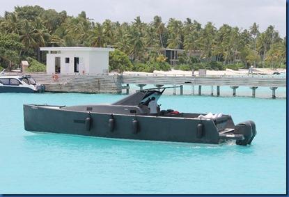 Amilla Fushi - James Bond boat