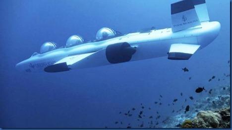 Four Seasons Landaa Giraavaru - submarine