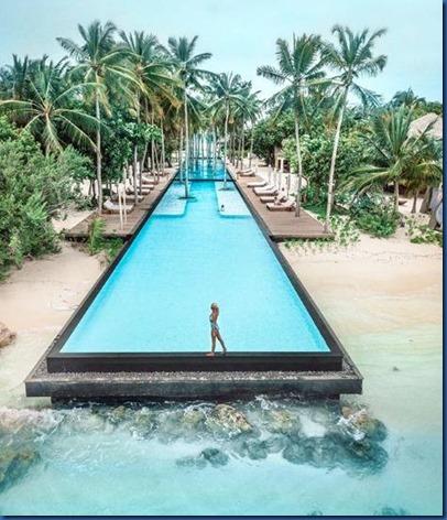 Sirru Fen Fushi - longest pool