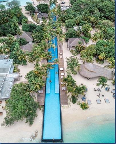 Sirru Fen Fushi - pool aerial