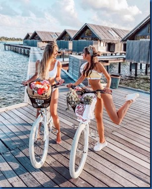 Bridget Bahl and Caroline Einhoff (USA - Germany) – Shangri-La Villingili