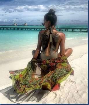 Karen El-Khazen (Lebanon) - LUX South Ari Atoll