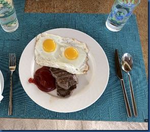 Cocoon - steak and egg station 2