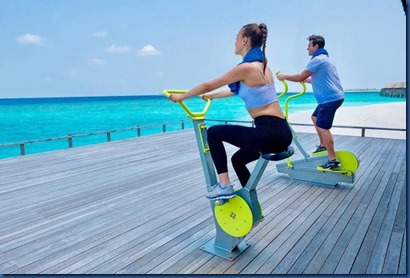 JA Manafaru - outdoor workout
