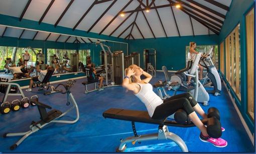 Kandima - blue gym