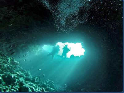 Amilla Fushi - house reef cave