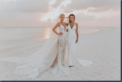 Billie Faiers and Samantha Faiers (United Kingdom) - Kuramathi