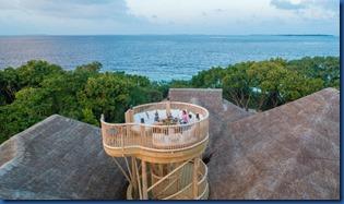 Soneva Fushi - roof deck 2