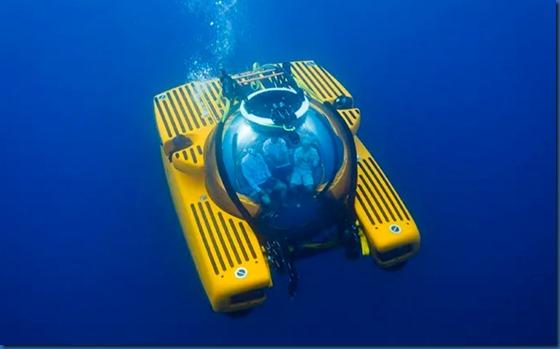 Soneva Fushi - submarine