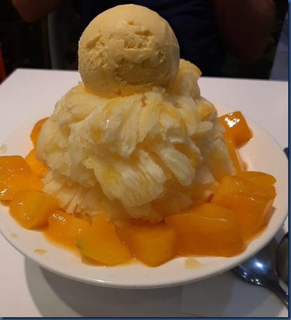 Havent Seen Yet - mango shaved ice