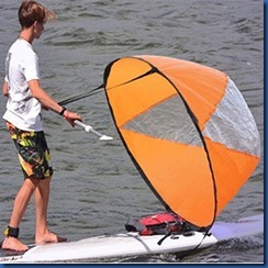 Havent Seen Yet - paddleboard sail
