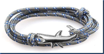 Havent Seen Yet - silver shark bracelet