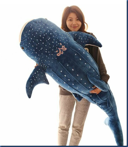 Havent Seen Yet - whale shark plush toy