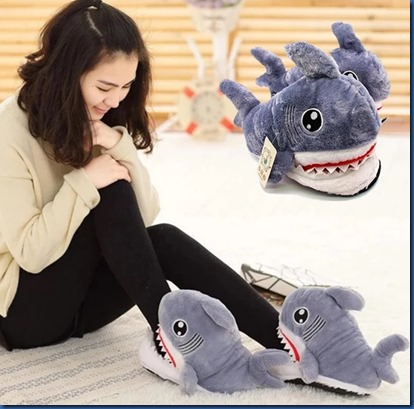Havent een Yet - shark slippers