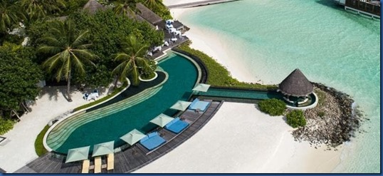 Four Seasons Kudaa Huraa - groyne pool