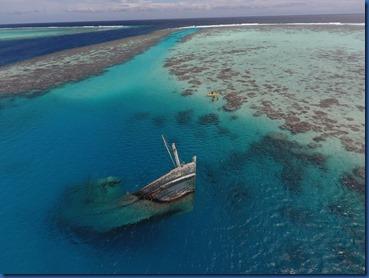 Maldives shipwreck