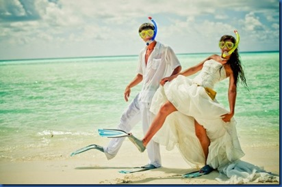snorkel weddings