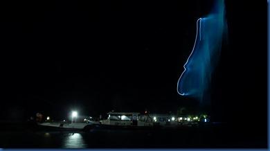 Kuredu - night kite surfing