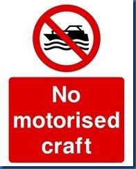 No motorised sports