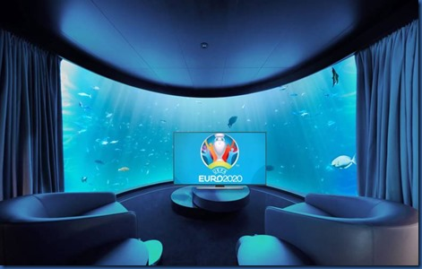 Conrad Rangali - underwater television