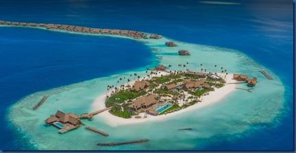 Ithaafushi - private island