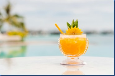 LUX North Male Atoll - cocktails