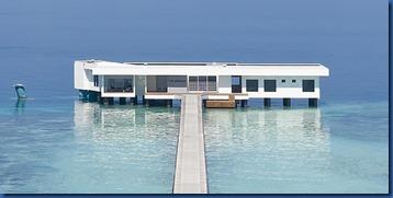 Conrad Rangali - underwater villa 1
