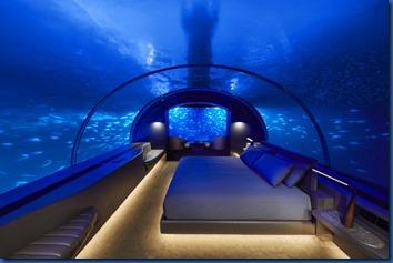Conrad Rangali - underwater villa 2