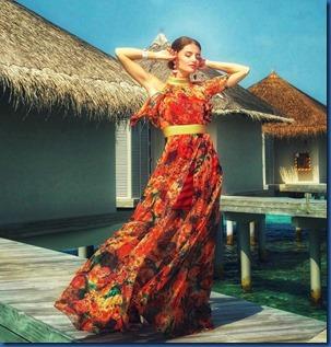 Ksenia Kovtun (Russia) - Cinnamon Dhonveli