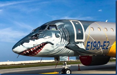 Hulhumale - shark plane