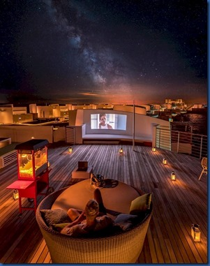 LUX North Male Atoll - rooftop star gazing