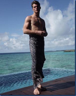 Maldives costume - Harding