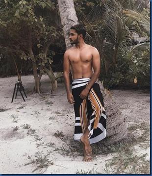 Maldives costume - Hussein