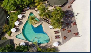 Paradise Island - dolphin pool