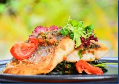 Park Hyatt Hadahaa fish cooking class