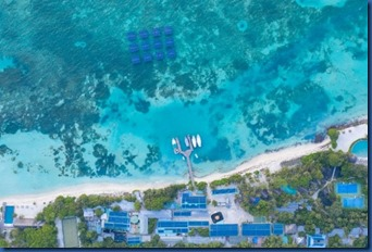 LUX South Ari Atoll - floating solar system 1