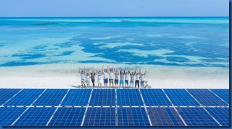 LUX South Ari Atoll - floating solar system 2