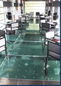 Ayada - restaurant glass floor