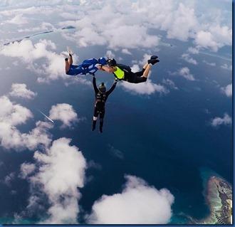 Shangri-La Villingili - skydiving 1